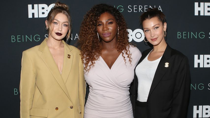 Gigi Hadid, Serena Williams und Bella Hadid