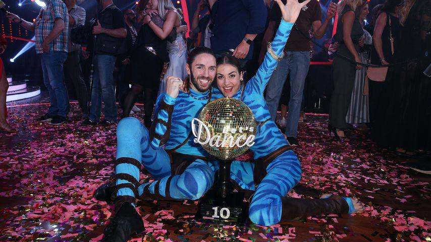 """Gil Ofarim und Ekaterina Leonova, """"Let's Dance""""-Gewinner von 2017"""