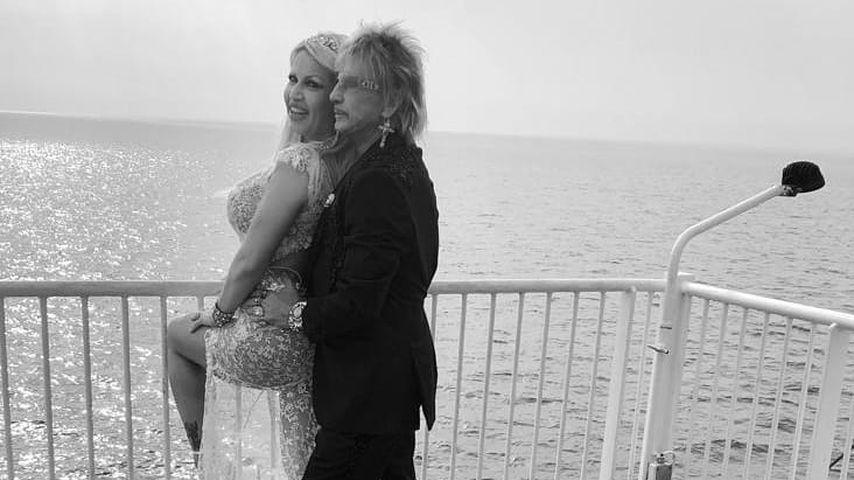 Ginger und Bert Wollersheim an ihrer Hochzeit