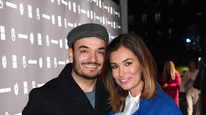 Giovanni und Jana Ina Zarella auf der Fashion Week in Berlin