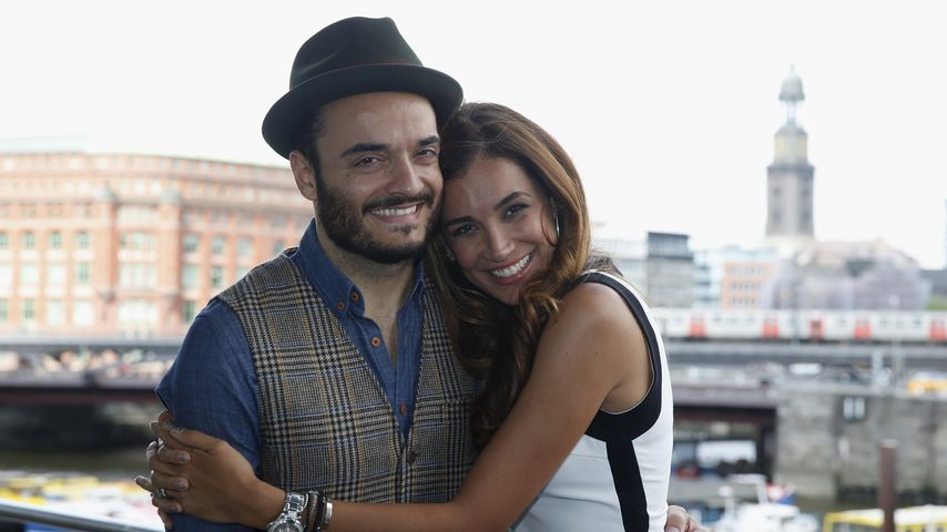 Giovanni und Jana Ina Zarrella in Hamburg