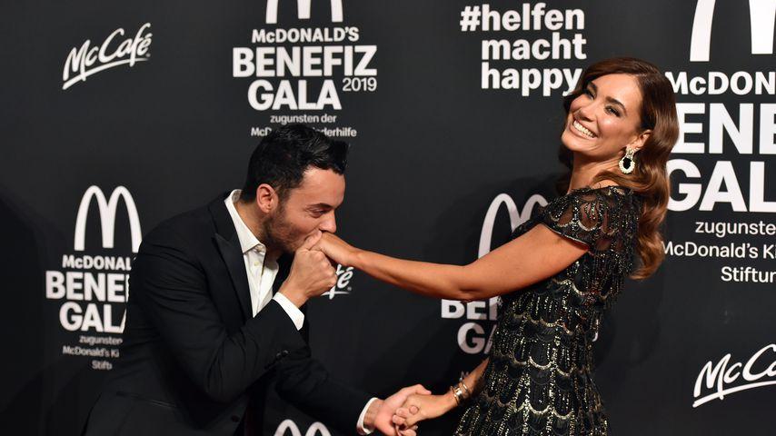 Giovanni und Jana Ina Zarrella im November 2019