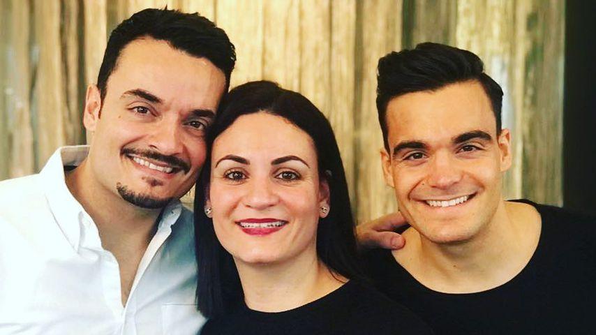 Giovanni Zarrella mit Schwester Maria und Bruder Stefano