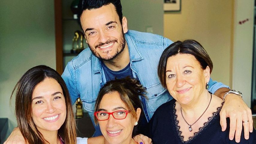 Giovanni Zarrella mit seiner Familie