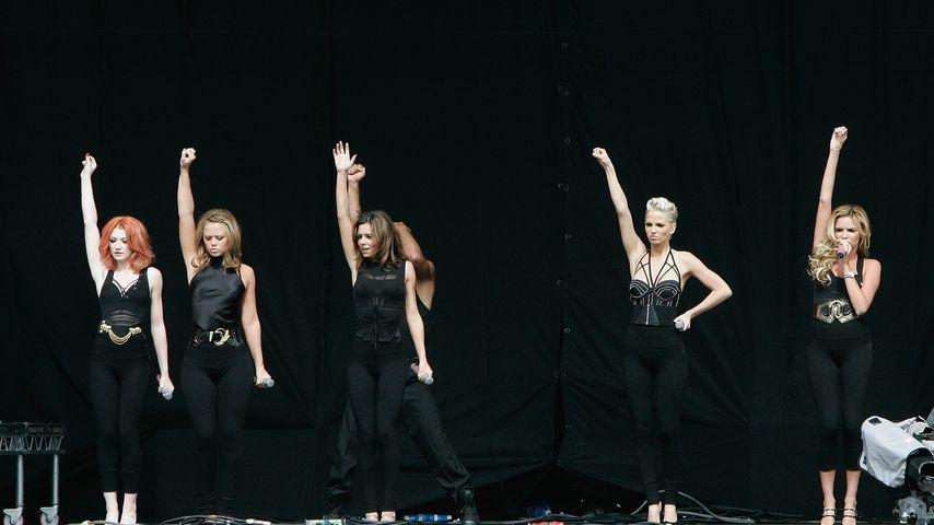 Girls Aloud 2008 auf der Bühne
