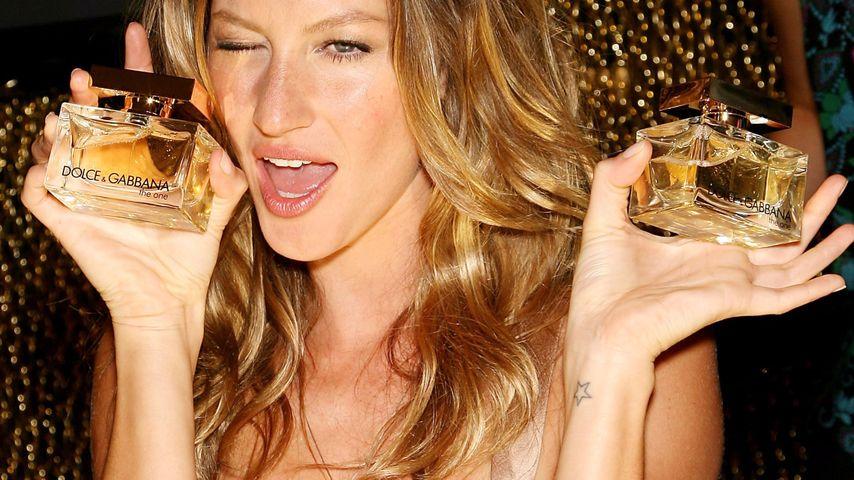 """Gisele Bündchen bei der Präsentation des Dufts """"The One"""" von Dolce & Gabbana"""