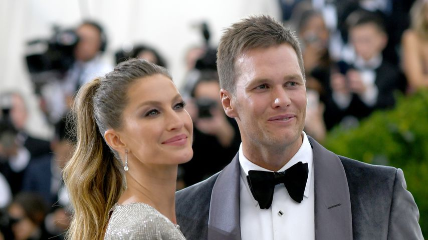 Gisele Bündchen und Tom Brady, 2017