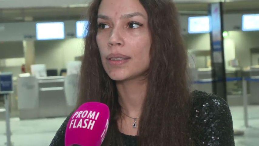 Gisele Oppermann im Gespräch mit Promiflash