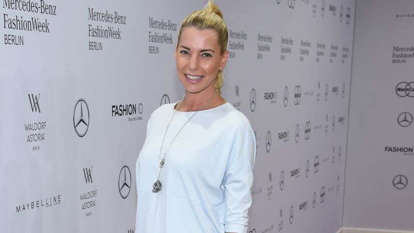 Giulia Siegel bei der Fashion Week in Berlin