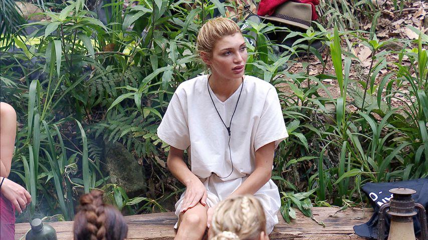 Giuliana Farfalla am dritten Tag im Dschungelcamp