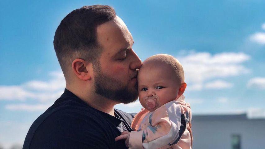 Giulio Arancio mit seiner Tochter, März 2019