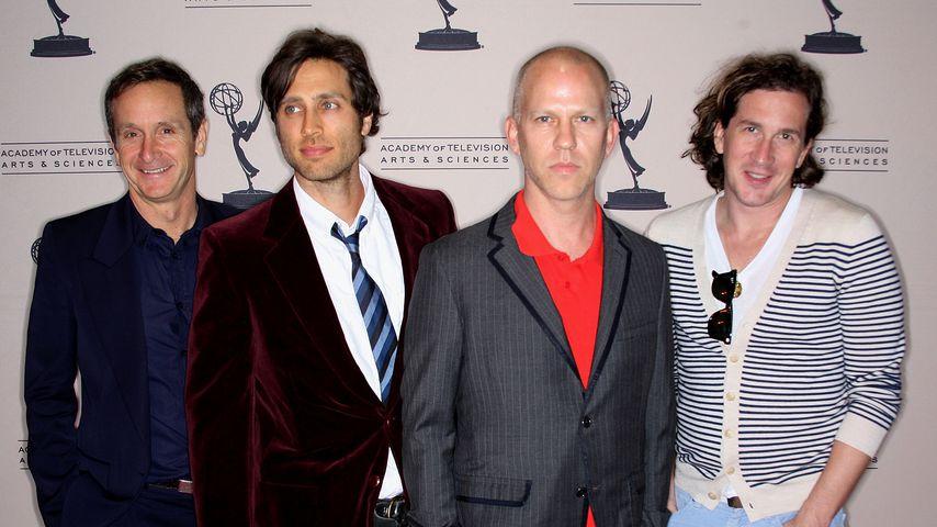 """Glee""-Produzenten Dante Di Loreto, Brad Falchuk, Ryan Murphy und Ian Brennan, April 2010"