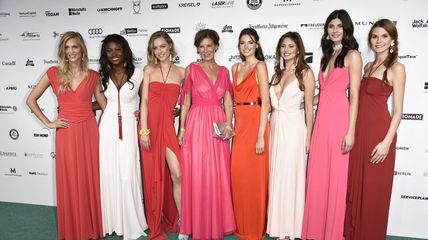 GNTM-Girls beim GreenTec Award