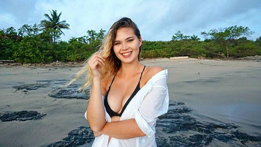 Ex-GNTM-Kandidatin Johanna in Costa Rica