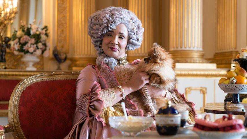 "Golda Rosheuvel als Königin in ""Bridgerton"""