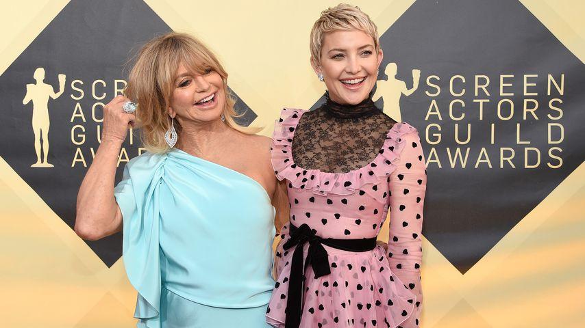 Goldie Hawn und Kate Hudson bei den SAG-Awards in L.A. im Januar 2018