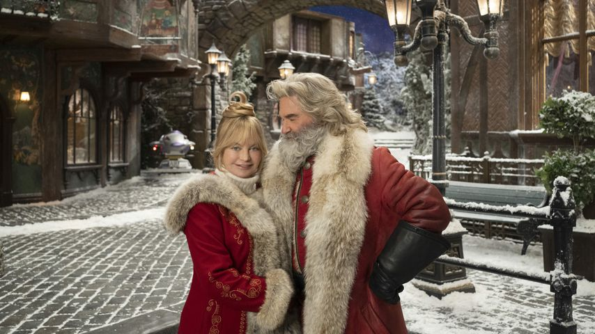 """Goldie Hawn und Kurt Russell in """"The Christmas Chronicles: Part Two"""""""