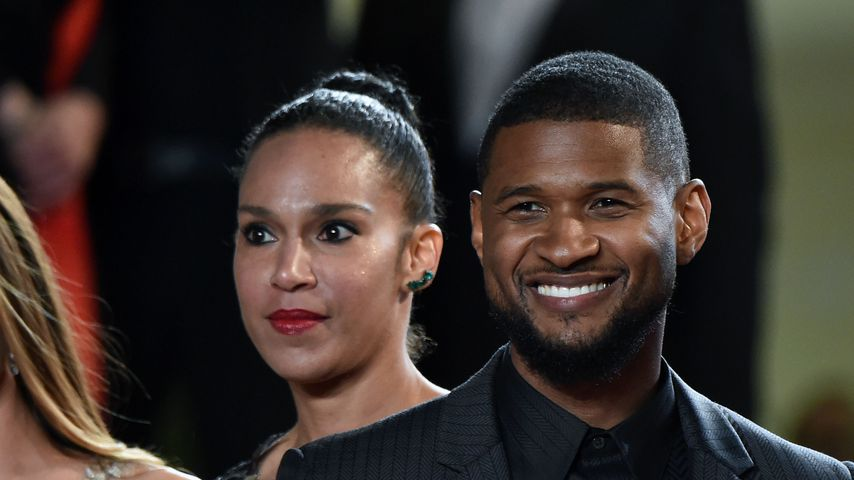 Grace Miguel und Usher in Cannes