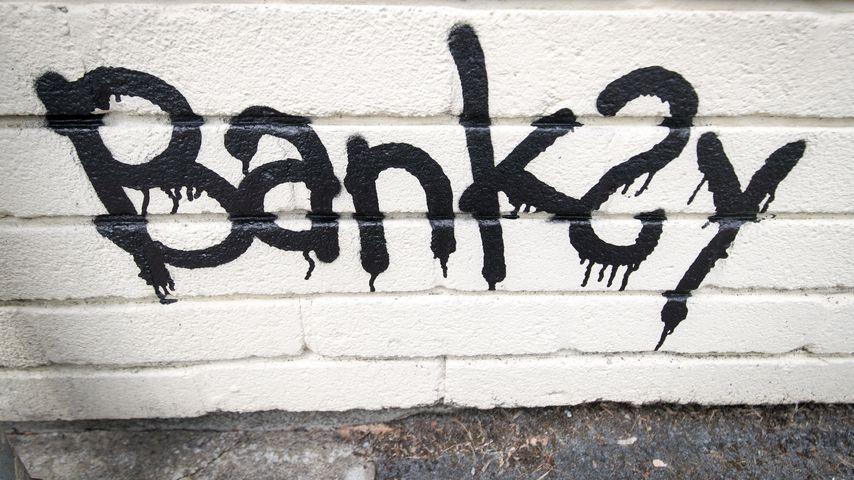 Graffiti von Banksy