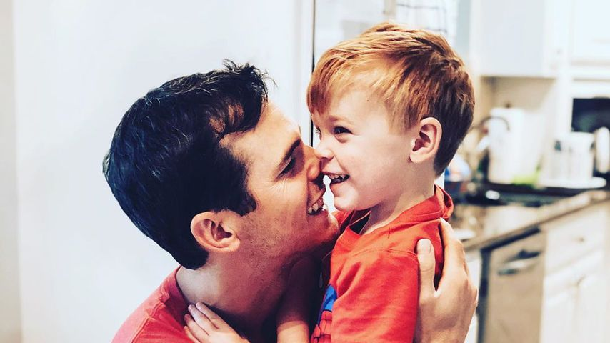 Granger Smith mit seinem Sohn River Kelly
