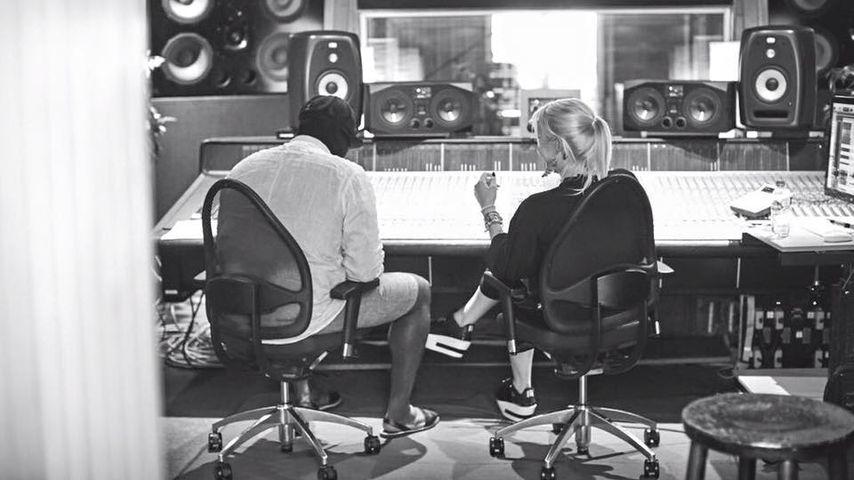 Gregory Porter und Sarah Connor zusammen im Studio
