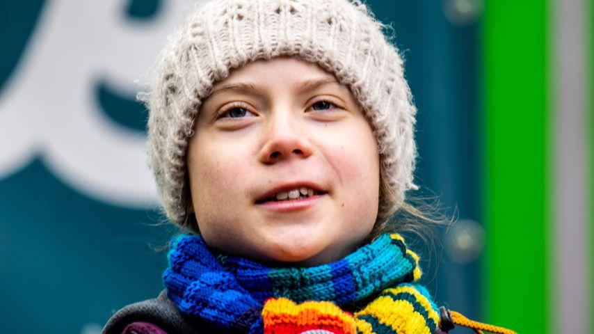 Greta Thunberg in Brüssel