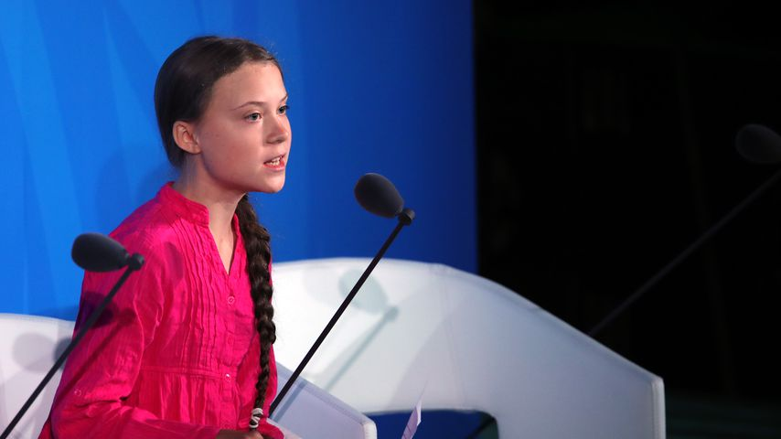 Greta Thunberg im September 2019