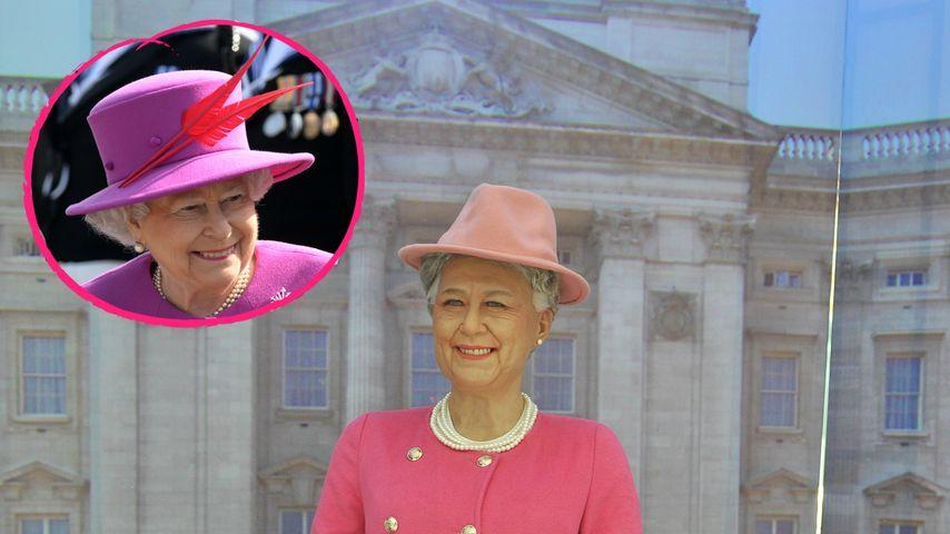 Missglückt! Gruselige Wachsfigur von Queen Elizabeth II.