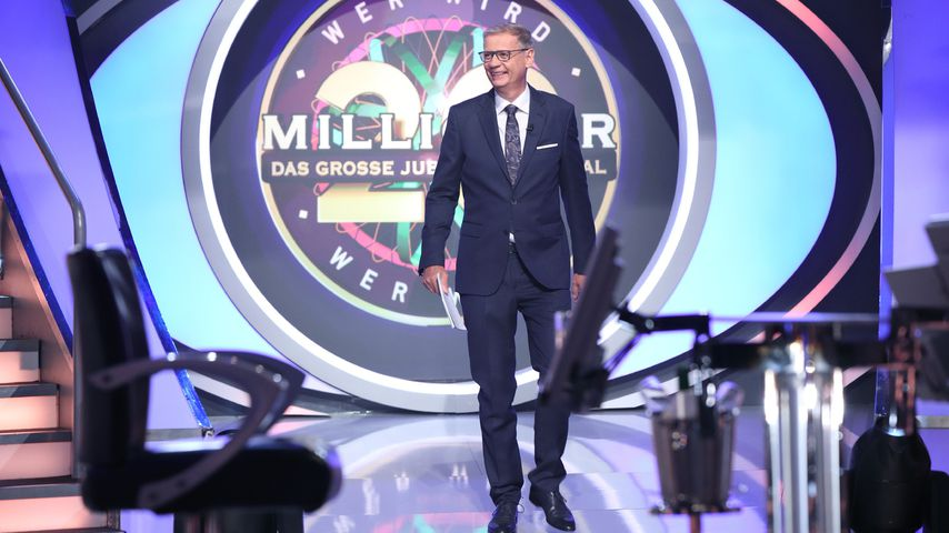 """Günther Jauch, """"Wer wird Millionär?""""-Moderator"""