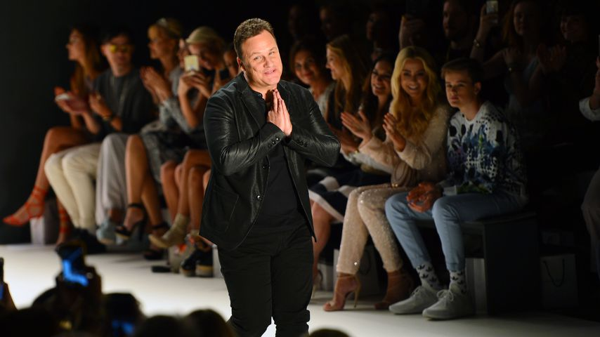 Guido Maria Kretschmer bei der Mercedes-Benz Fashion Week 2017