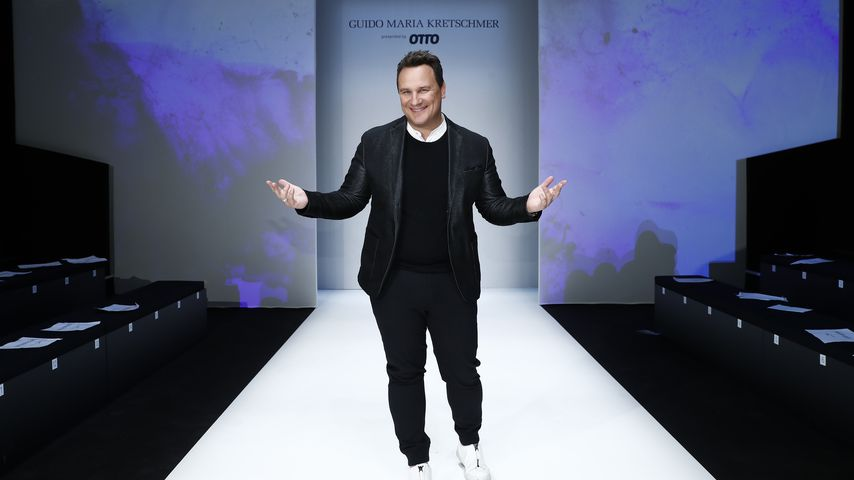 Guido Maria Kretschmer bei der Berlin Fashion Week 2018