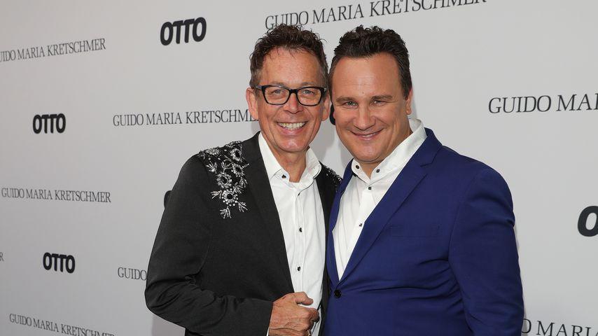 Guido Maria Kretschmer und sein Mann Frank Mutters
