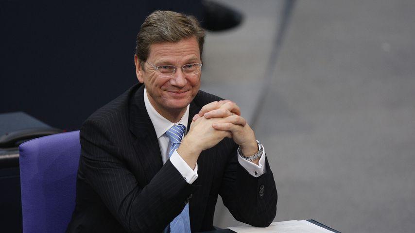 Guido Westerwelle 2009 im deutschen Bundestag