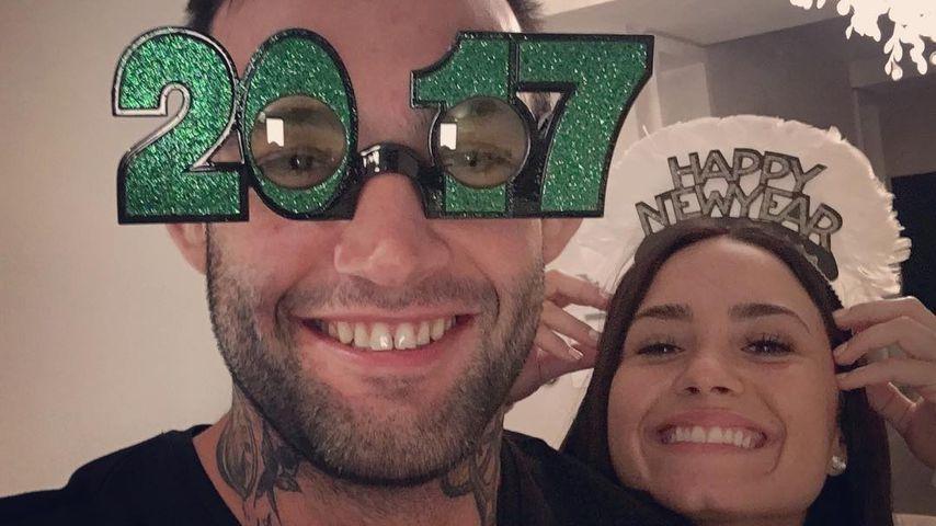 Guilherme Vasconcelos und Demi Lovato 2017