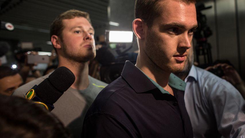 Olympia-Skandal! Zwei US-Schwimmer im Flieger verhaftet