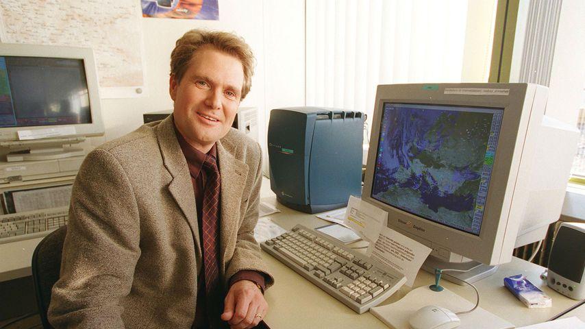 Nachrichtensprecher Gunther Tiersch, 1999 in Mainz