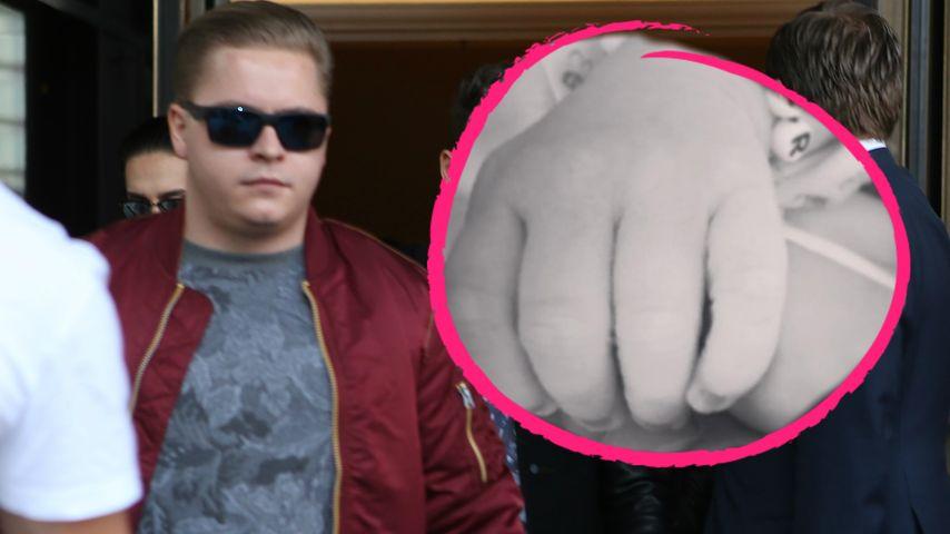 """1. """"Tokio Hotel""""-Baby ist da: Gustav Schäfer ist Papa!"""