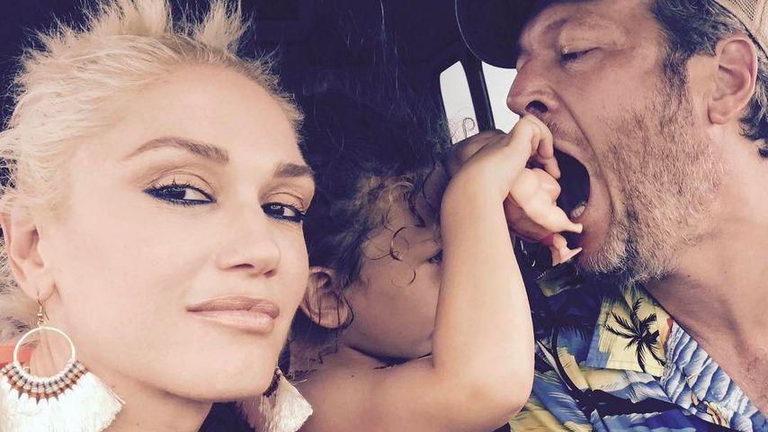 Noch in love: Gwen Stefani teilt süßes Family-Pic mit Blake!