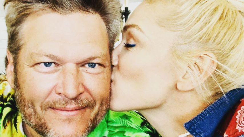 Mit Küsschen: So süß gratuliert Gwen Stefani ihrem Blake