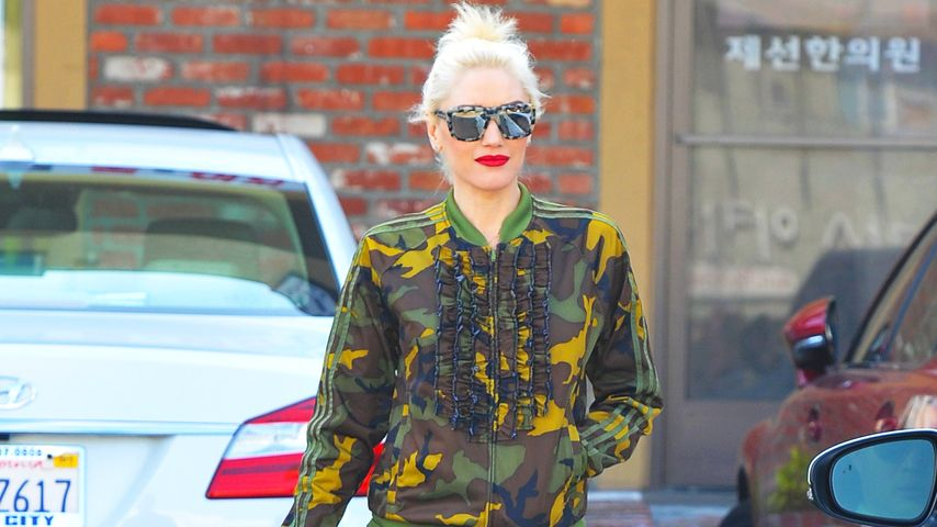 Gwen Stefanis Military-Look: Top oder Fashionflop?