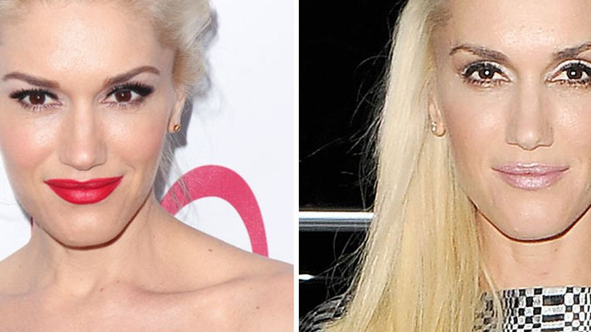Ungewohnt! Gwen Stefani ohne roten Lippenstift