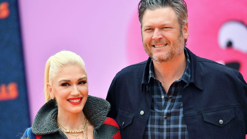 Gwen Stefani und Blake Shelton im April 2019