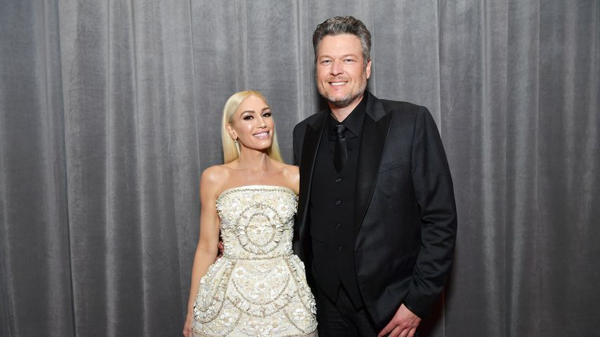 Gwen Stefani und Blake Shelton, Januar 2020