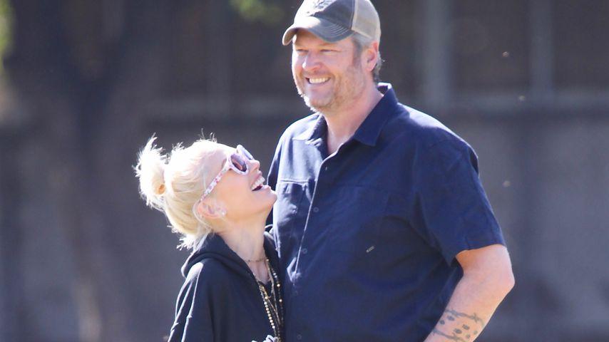 Gwen Stefani und Blake Shelton Arm in Arm im Februar 2020