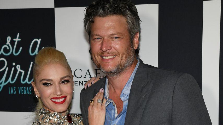 Gwen Stefani und Blake Shelton bei einem Event in Las Vegas
