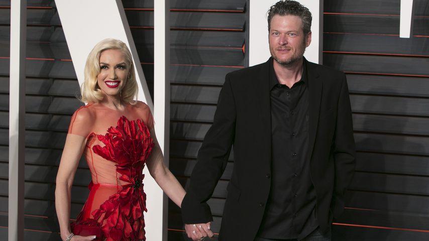 Gwen Stefani und Blake Shelton bei der Vanity Fair Oscar Party 2016