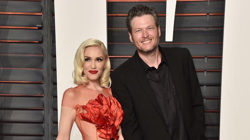 Gwen Stefani und Blake Shelton im Jahr 2016