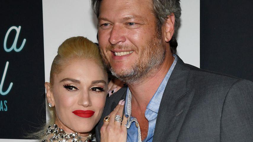 Gwen Stefani und Blake Shelton in Las Vegas 2018