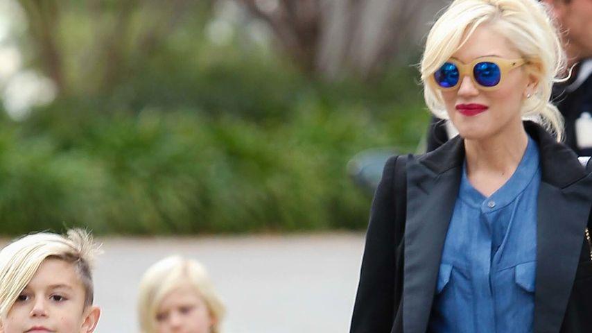 Gwen Stefani und Kingston Rossdale