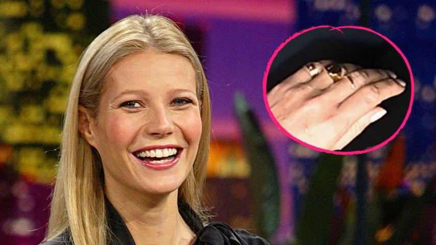 Gwyneth Paltrow verlobt! Trägt sie hier schon den Ring?